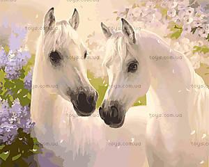 Рисование по номерам «Пара лошадей», КН2433