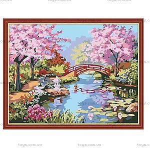 Рисование по номерам «Сад цветущей сакуры», КН190