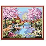 Рисование по номерам «Сад цветущей сакуры», КН190, отзывы
