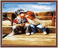 Рисование по номерам серии «Дети», MGшк40904, купить