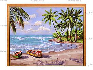 Рисование по номерам из серии «Морской пейзаж», MGшк40942, игрушки