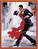 Рисование по номерам «Танго», КН121, отзывы