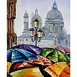 Рисование по номерам «Яркие зонтики», КН2136, фото