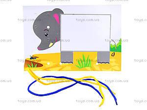 Рисование шнурочками ,Уровень 1, Л111001Р, toys.com.ua