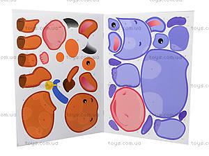 Рисунки с наклеек «Корова», Л900835У, детский