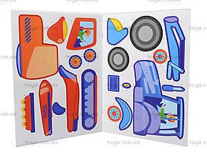 Рисунки с наклеек «Самосвал», Л900834У, toys.com.ua