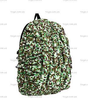 Рюкзак для мальчика, зеленый майнкрафт, KZ24484101