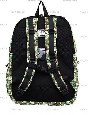 Рюкзак для мальчика, зеленый майнкрафт, KZ24484101, фото