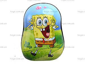 Рюкзак детский с плотной спинкой, 5 видов, 555-97, toys