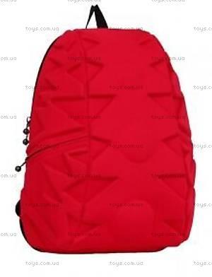Модный красный рюкзак для девочки Exo Full, KAA24484637