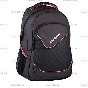 Школьный рюкзак Kite Sport, черно-красный, K14-821-2