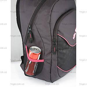 Школьный рюкзак Kite Sport, черно-красный, K14-821-2, купить