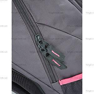 Школьный рюкзак Kite Sport, черно-красный, K14-821-2, цена