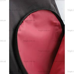 Школьный рюкзак Kite Sport, черно-красный, K14-821-2, игрушки