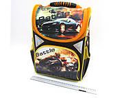 """Рюкзак коробка """"Battle"""", 3 отделения, ортопедический, 1824AB, игрушки"""