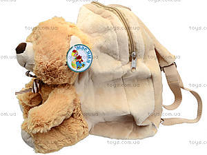 Детский рюкзак-мишка, S-JY-5129B, фото