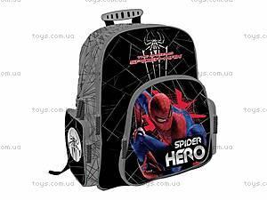 Школьный ортопедический рюкзак с EVA-спинкой Spider Hero, SM4M-12T-9621