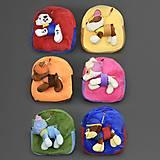 Рюкзак с игрушкой-брелок, разные, 555-15, купить игрушку