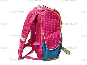 Рюкзак школьный каркасный Fabric Animals, 552143, игрушки