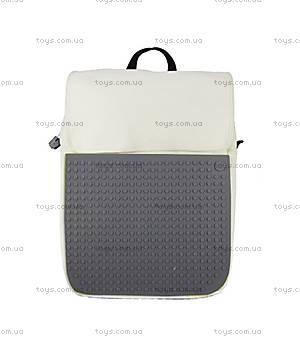 Школьный рюкзак Upixel Fliplid, бело-серый, WY-A005V, купить