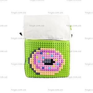 Молодежный рюкзак Upixel Fliplid, бело-зеленый, WY-A005J, фото