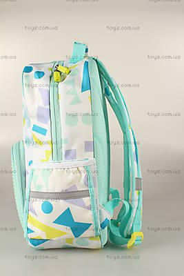 Рюкзак Upixel Geometry Neverland, бирюзово-белый, WY-A022J, купить