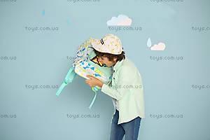 Рюкзак Upixel Geometry Neverland, бирюзово-белый, WY-A022J, магазин игрушек