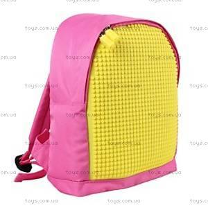 Детский рюкзак Upixel Junior, розово-желтый, WY-A012F, фото
