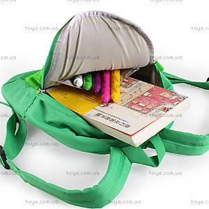 Детский рюкзак Upixel Junior, зелено-желтый, WY-A012G, фото