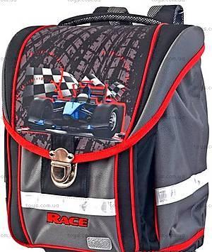 Школьный рюкзак с ортопедической спинкой Race maxi, ZB14.0120RC