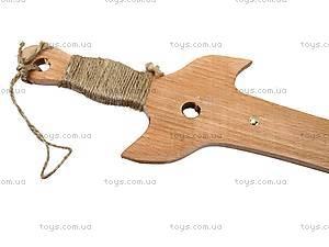 Деревянная сабля для детей «Казацкая», 141-012, фото