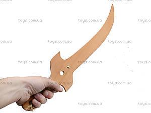 Игрушечная деревянная сабля «Казацкая», 141-012у, цена