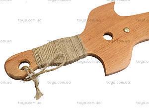 Игрушечная деревянная сабля «Казацкая», 141-012у, детские игрушки