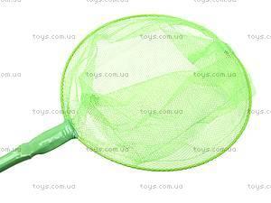 Сачок для детей, зеленый, H2-24589-23, toys.com.ua
