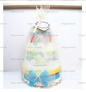 Торт из памперсов для мальчика Sailboat, PPC31, купить