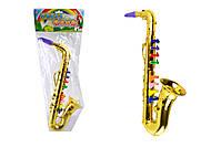 Детский игрушечный саксофон, 3005, фото