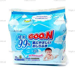Влажные салфетки для младенцев, 70 штук, 733402