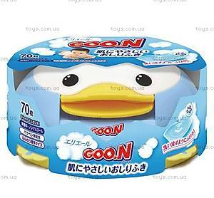 Влажные салфетки для младенцев Goo.N, 70 штук, 733401