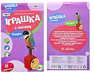 Игрушка из бумаги «Папугаи», 202-03, фото