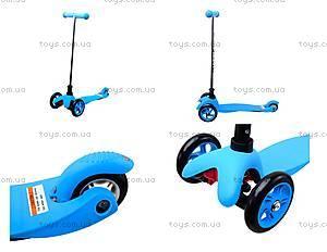 Самокат 3-колесный для детей, 15866-213