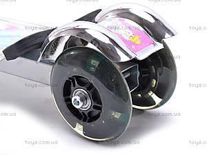 Самокат алюминиевый, трехколесный, YJ-226, игрушки