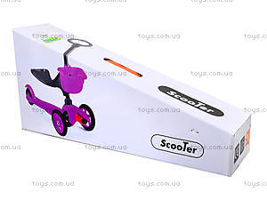 Детский самокат 3-колесный, BT-KS-0032, детские игрушки