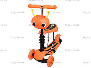 Детский самокат с корзиной, BT-KS-0057, фото