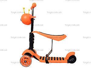 Детский самокат с корзиной, BT-KS-0057, игрушки