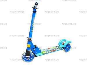 Детский самокат с подсветкой колес, 627  466-34, купить