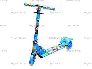Детский самокат с подсветкой колес, 627  466-34, фото