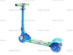 Детский самокат с подсветкой колес, 627  466-34, отзывы