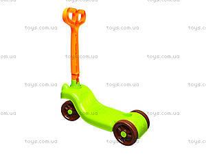 Детский самокат, пластиковый, 3473, игрушки