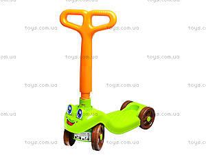 Детский самокат, пластиковый, 3473, детские игрушки