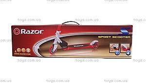 Самокат Razor Kick S, красный, R13073058, фото